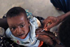 Malaria vaccine. Photo credit: Global Panorama, Flickr 2009, CC-BY-SA2.0.
