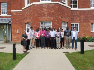 PDNA meeting, Hinxton Hall, Wellcome Genome Campus Conference Centre, June 2014. Photo courtesy of Dr Vikki Cornelius.