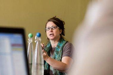 Prof Lisa White at GEM 2015. Credit: Thomas Farnetti.