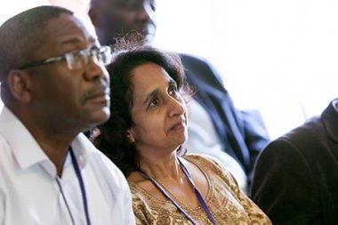 Nadira Karunaweera at GEM 2013. Photo credit: Thomas Farnetti.