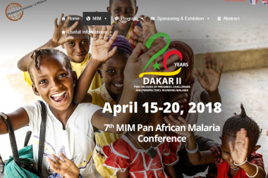 7th MIM Pan African Malaria Conference. 15-20 April 2018. Dakar, Senegal.